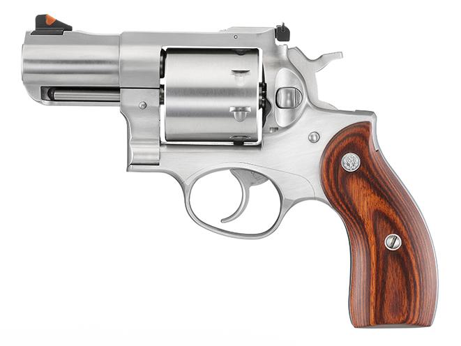 Ruger Redhawk revolver left profile