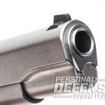 Ruger SR1911 Target pistol muzzle