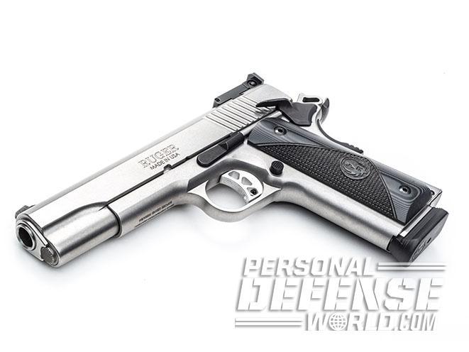 Ruger SR1911 Target pistol left angle