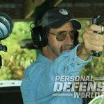 Ruger SR1911 Target pistol aiming