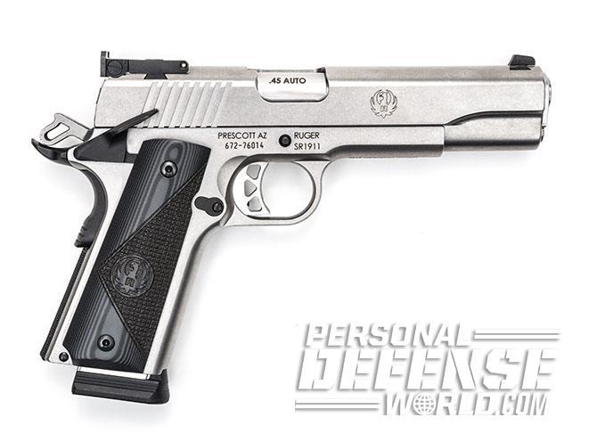 Ruger SR1911 Target pistol right profile