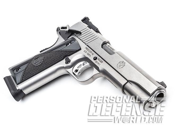 Ruger SR1911 Target pistol right angle
