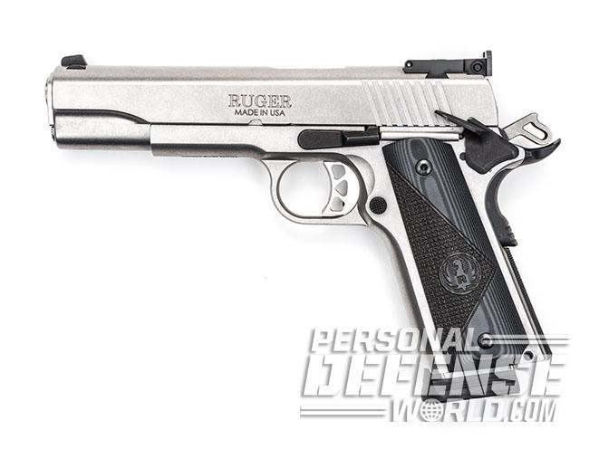 Ruger SR1911 Target pistol left profile