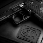 sti pistol case logo
