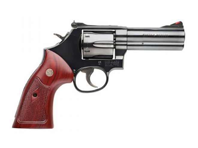 S&W Model 586 hunting revolvers