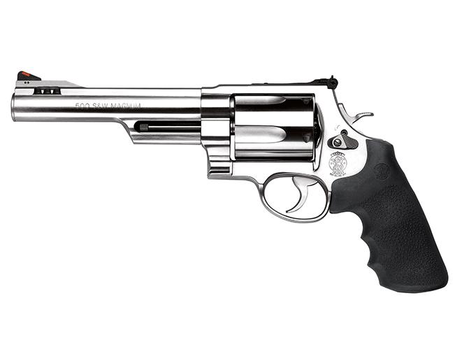 S&W Model S&W500 hunting revolvers