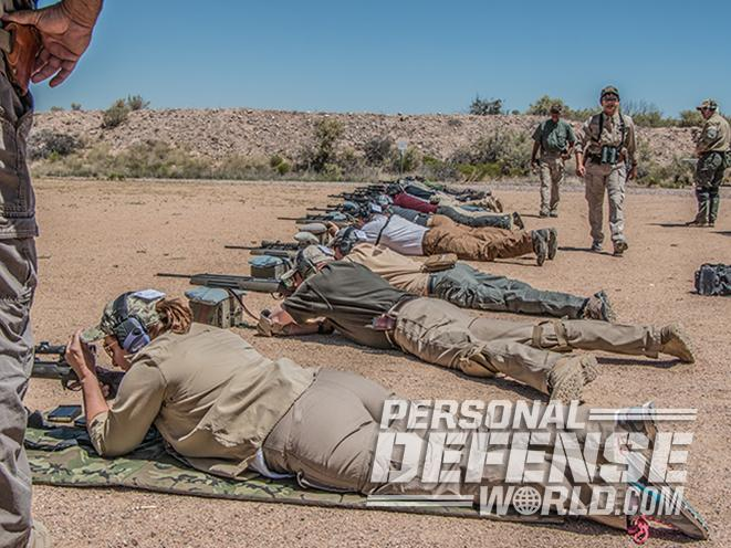 scout rifle conference firing line prone