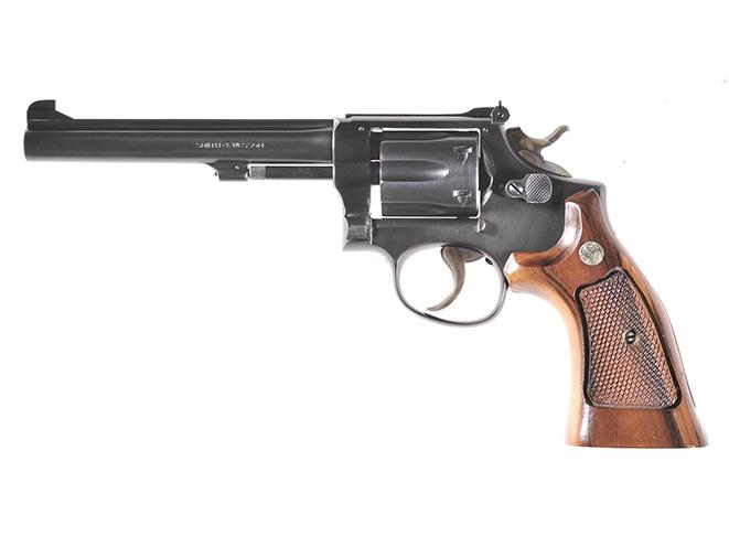 Smith & Wesson Model 17 rimfire revolvers