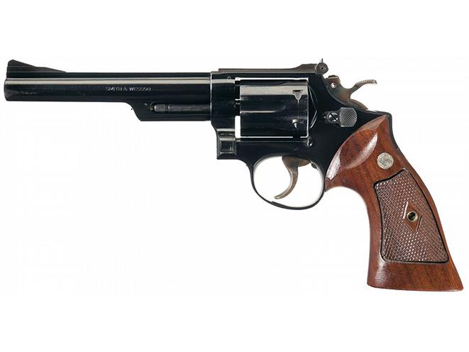 Smith & Wesson Model 53 rimfire revolvers