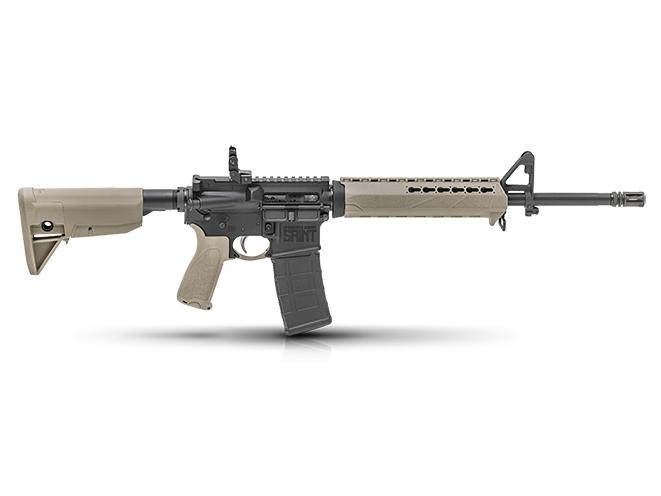 Springfield Saint FDE rifle right profile