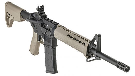Springfield Saint FDE rifle right angle