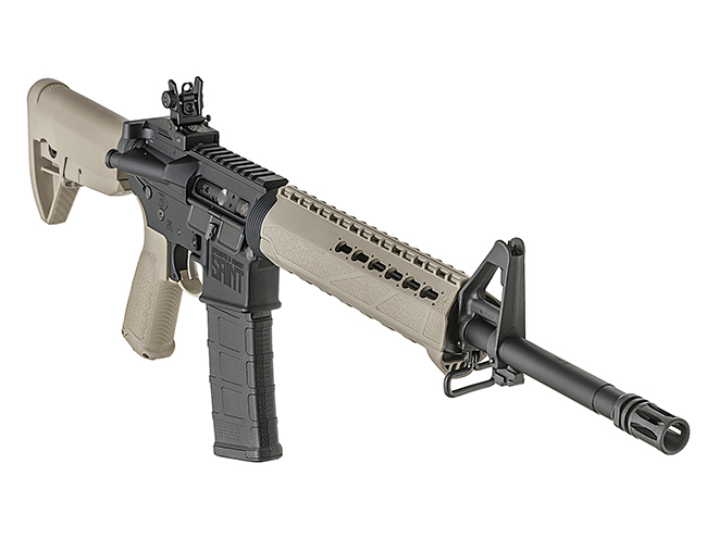 Springfield Saint FDE rifle another angle
