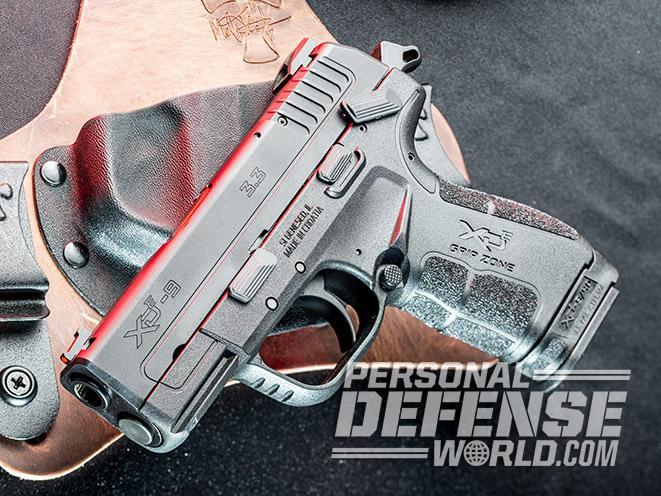 Springfield XD-E pistol safety