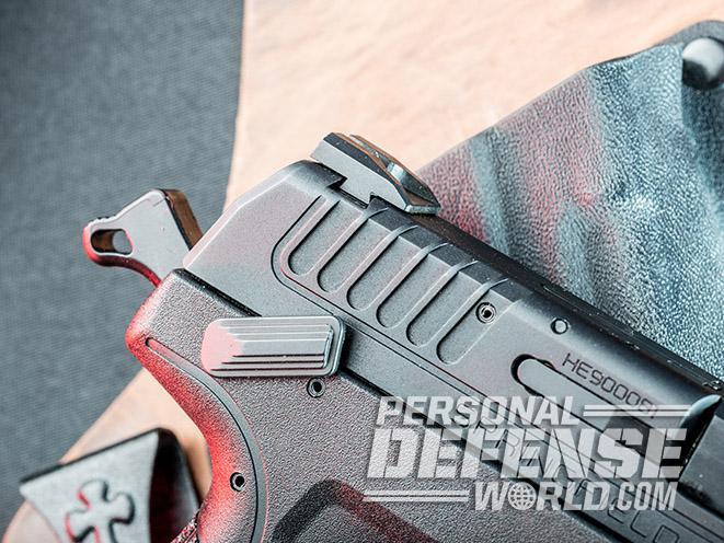 Springfield XD-E pistol safety up