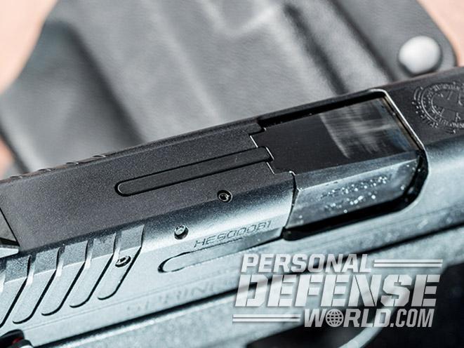 Springfield XD-E pistol top