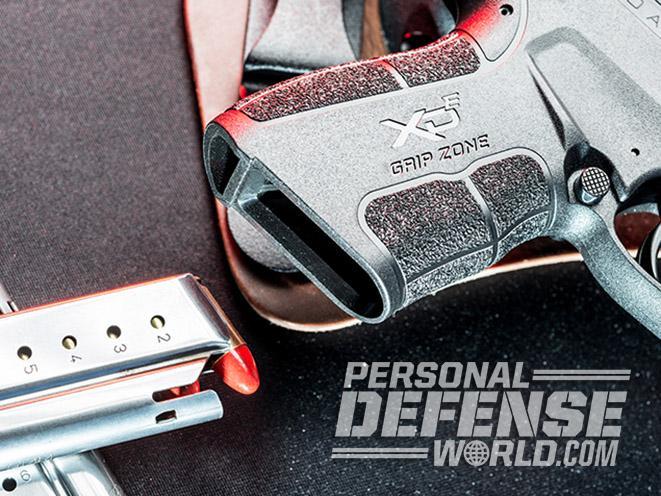 Springfield XD-E pistol mag well