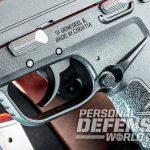 Springfield XD-E pistol trigger