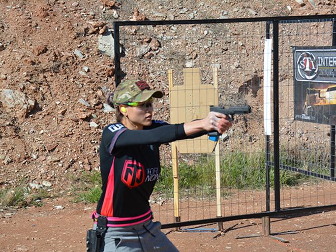 Tori Nonaka aiming