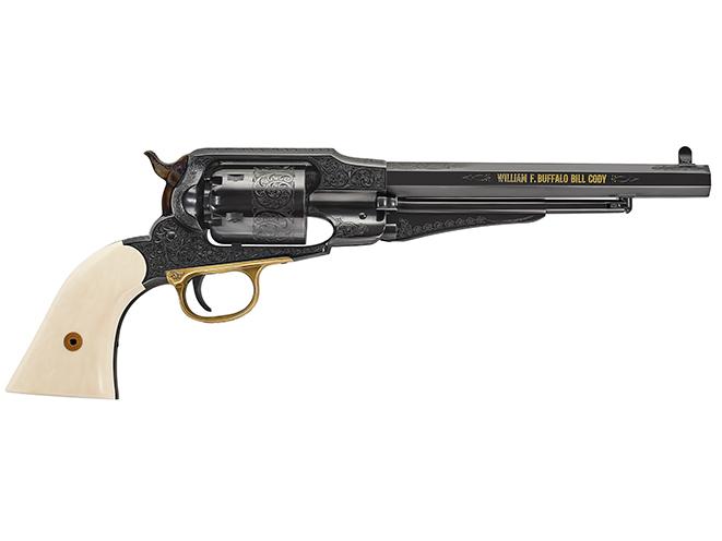Uberti 1858 Buffalo Bill Centennial black powder guns
