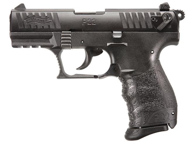 Walther P22QD pistol