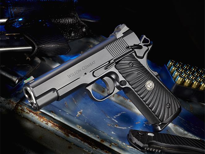 Wilson Combat Hackathorn Special Commander pistol left angle