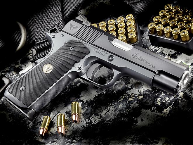 Wilson Combat Hackathorn Special Commander pistol different angle