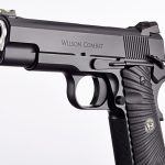 Wilson Combat Hackathorn Special Commander pistol muzzle and controls