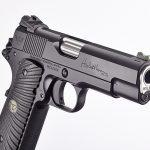 Wilson Combat Hackathorn Special Commander pistol engraved frame