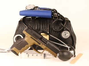 healthcare providers with guns