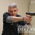 healthcare providers gun pointing