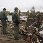 hurricane harvey border patrol