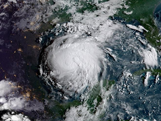 hurricane harvey satellite