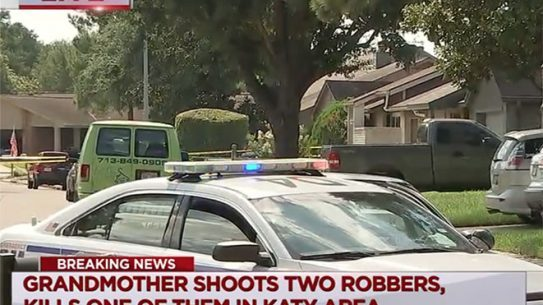 armed grandmother texas home invaders