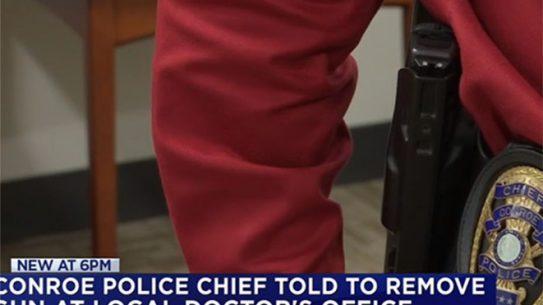 texas police chief gun