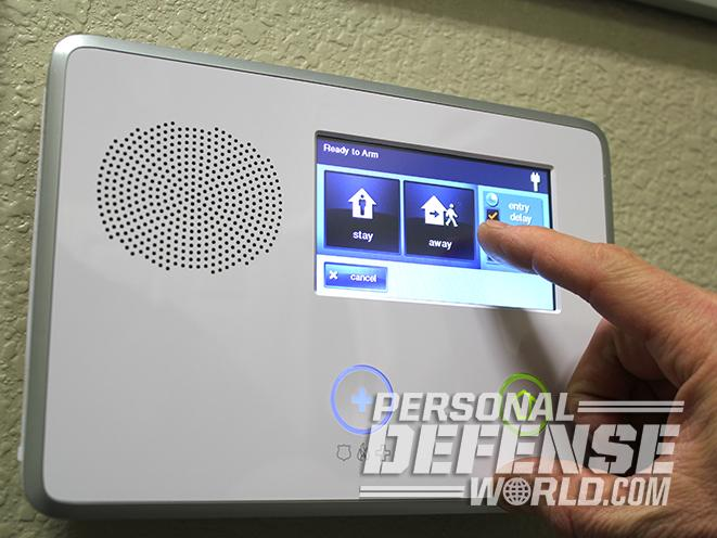 home alarm system keypad