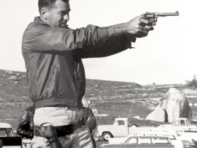Jack Weaver revolvers handgun shooting stance