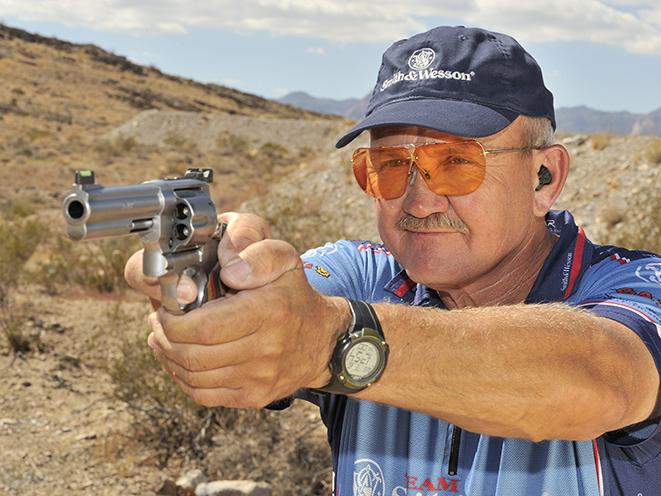 Jerry Miculek revolvers handgun shooting