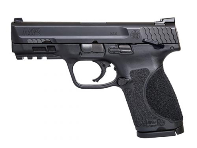 Smith & Wesson M&P M2.0 Compact pistol with thumb safety