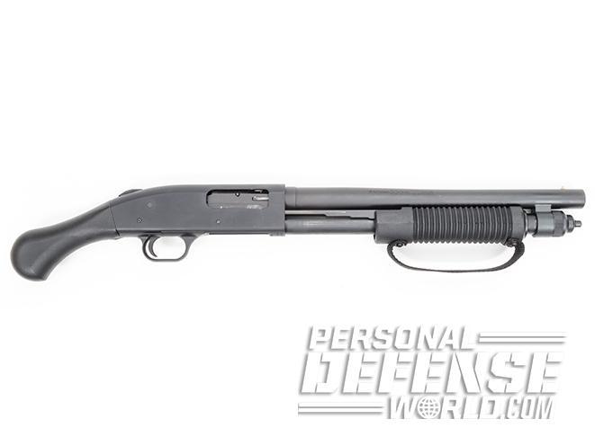 mossberg 590 shockwave right profile short-barreled shotguns