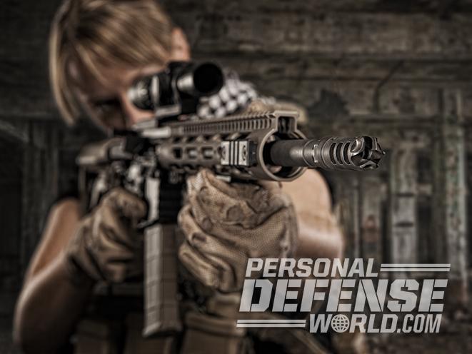 ar-15 female shooter