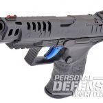 Walther Q5 Match pistol serrations