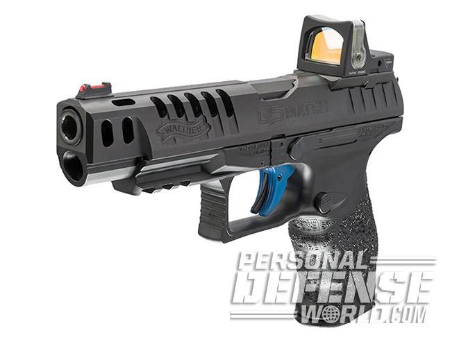 Walther Q5 Match pistol optic