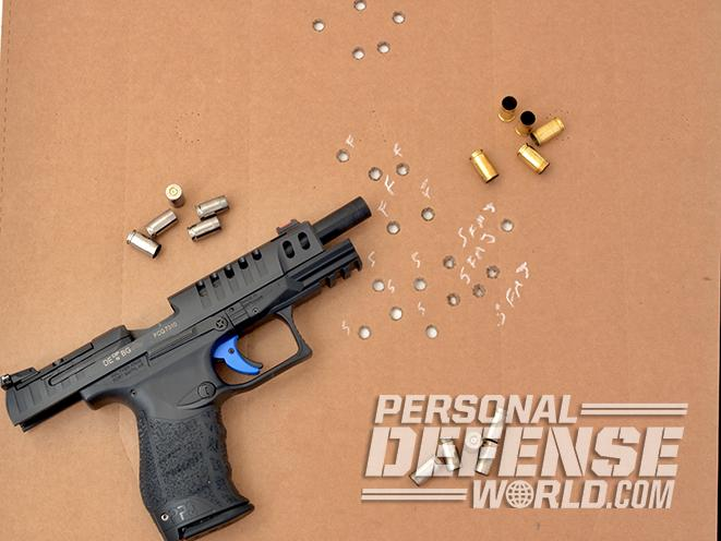 Walther Q5 Match pistol target