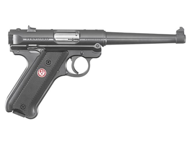 ruger mark iv standard pistol with 6-inch barrel