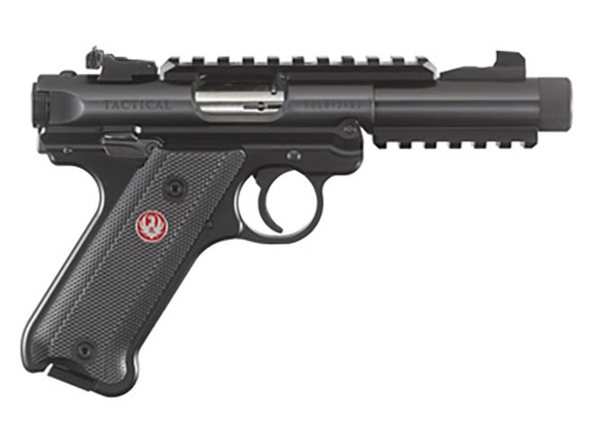 ruger mark iv tactical pistol