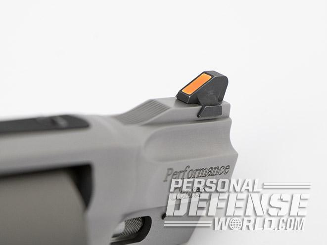 Smith & Wesson Performance Center Model 986 revolver front sight