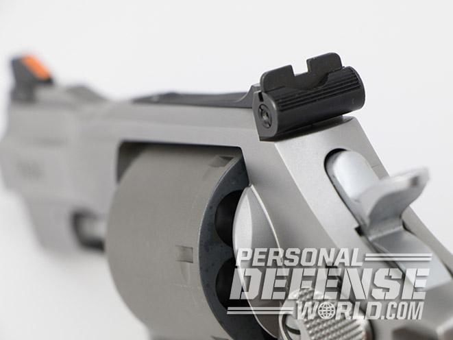 Smith & Wesson Performance Center Model 986 revolver rear sight