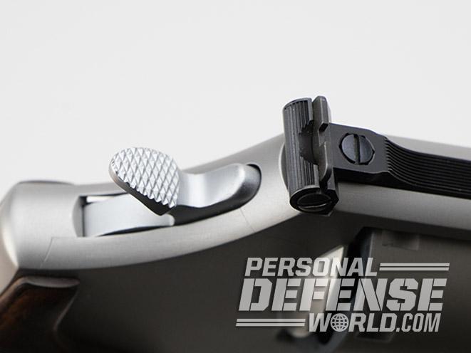 Smith & Wesson Performance Center Model 986 revolver hammer