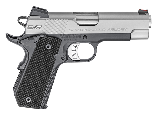 Springfield EMP 4-inch Concealed Carry Contour pistol right profile