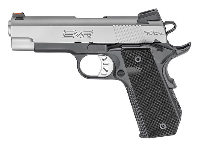 Springfield EMP 4-inch Concealed Carry Contour pistol left profile